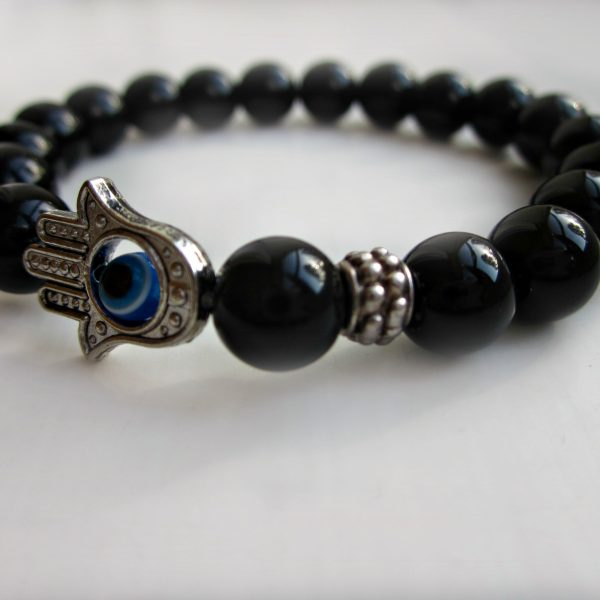 accessories onyx bracelet p s men on bb black a matte carousell aa fashion